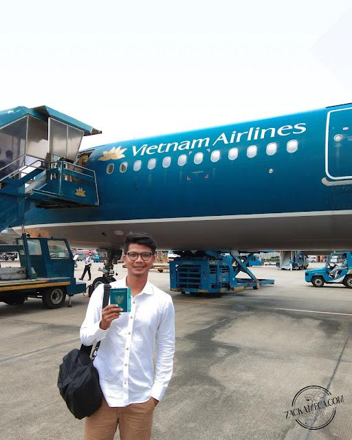 PENGALAMAN PERTAMA TERBANG BERSAMA VIETNAM AIRLINES