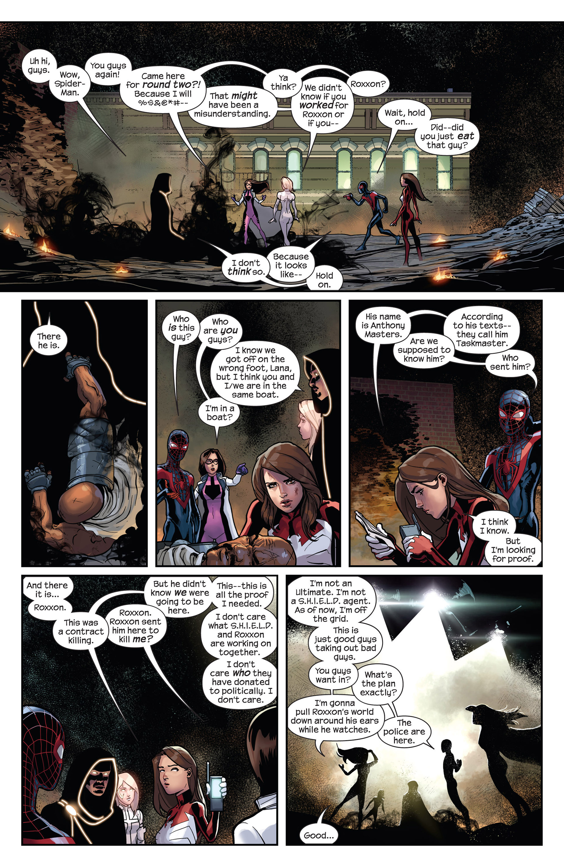 Read online Ultimate Comics Spider-Man (2011) comic -  Issue #27 - 18