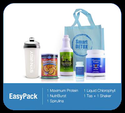 Harga Paket Smart Detox Easy Pack