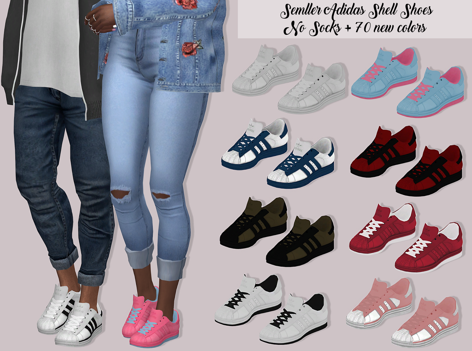 Sims 4 CC's The Best: Shoes by Lumy Sims