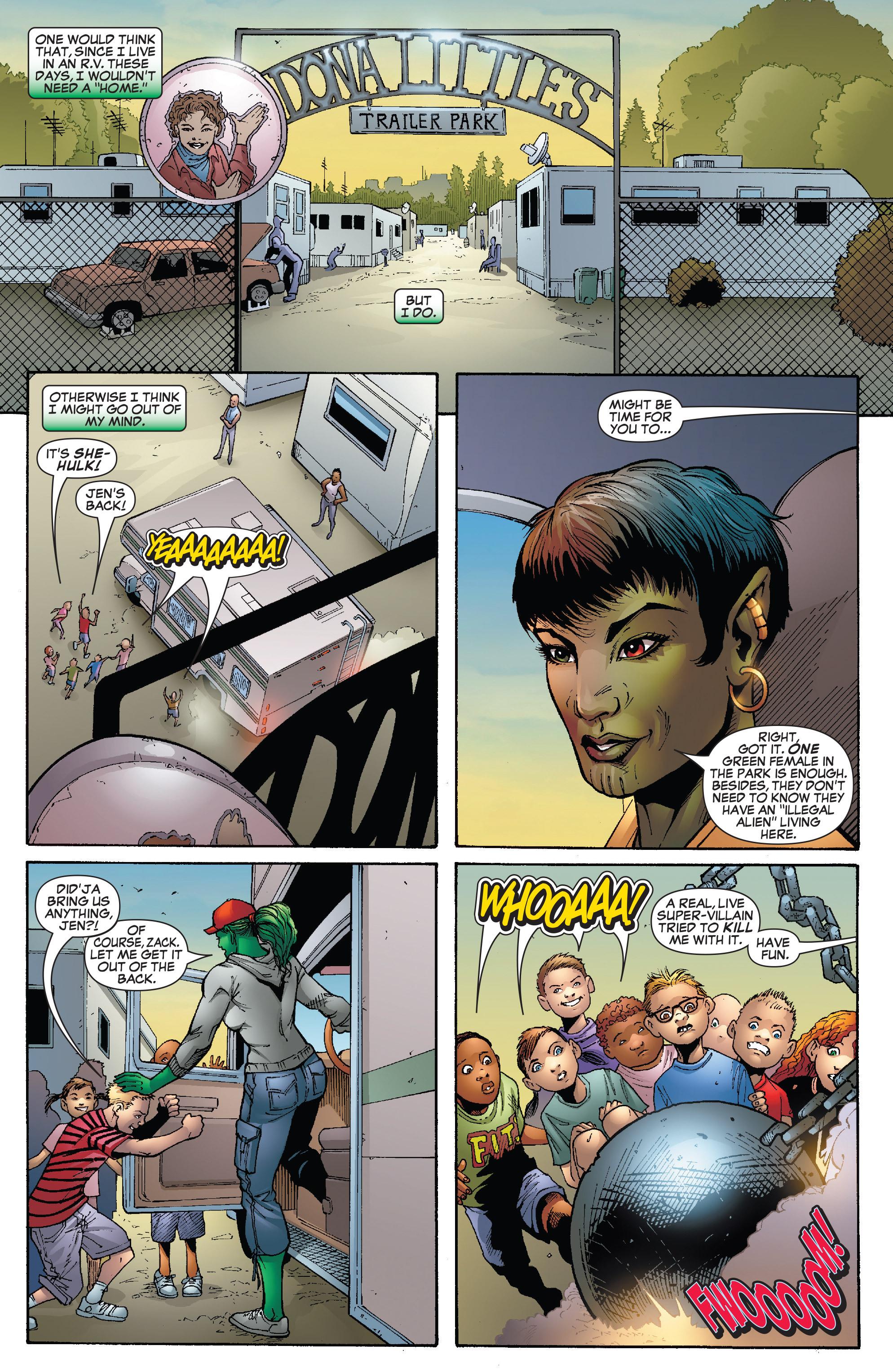 Read online She-Hulk (2005) comic -  Issue #24 - 6