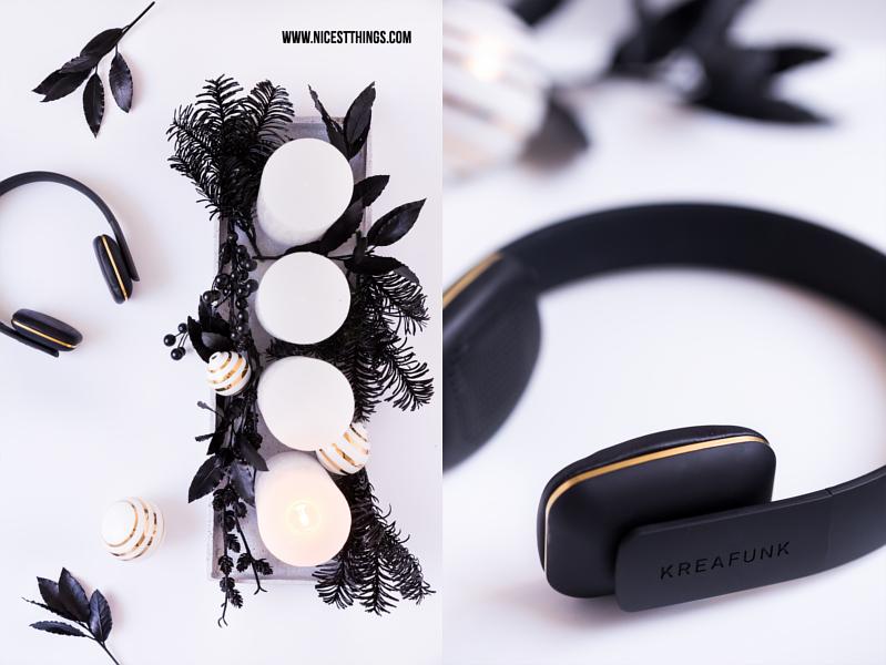 Kreafunk Kopfhörer Bluetooth kabellos und DIY Adventskranz