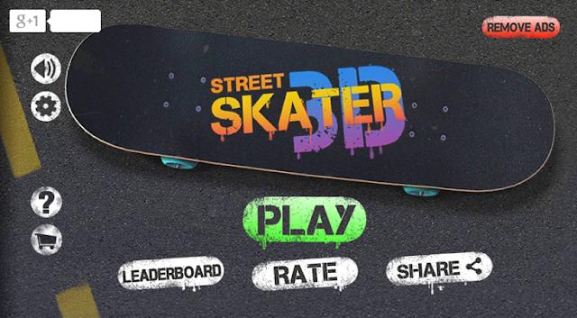 game sepatu roda street skater 3d