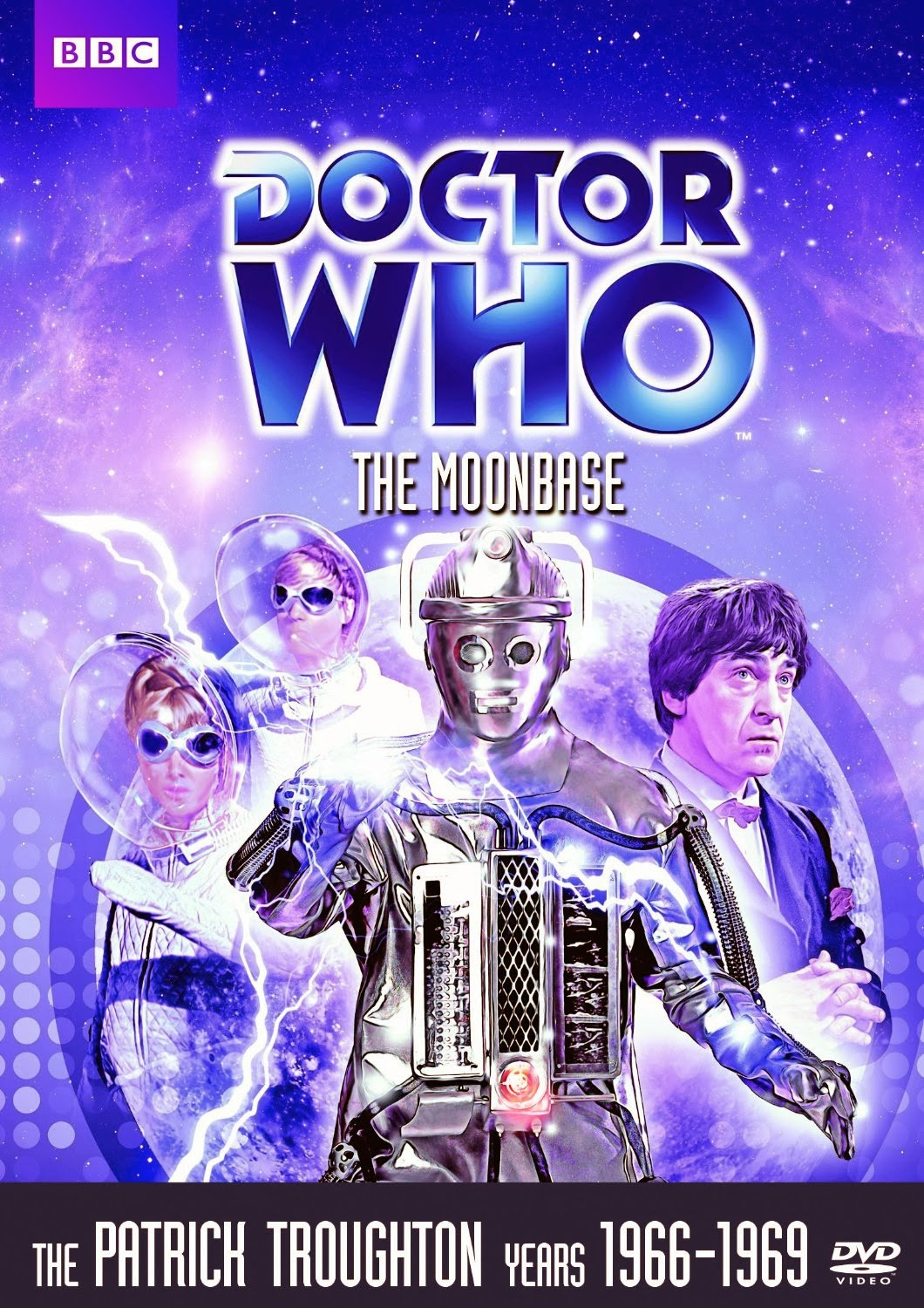 The Rued Morgue: Doctor Who: The Tenth Planet & The Moonbase DVD reviews