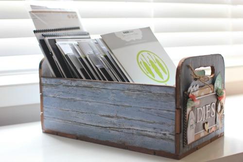 Kaisercraft Beyond the page Die Storage Box by Alicia McNamara