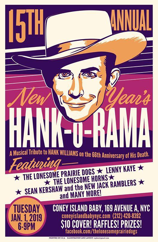 Everynight Charley's Manhattan Beat: The 15th Annual New Year's Hank