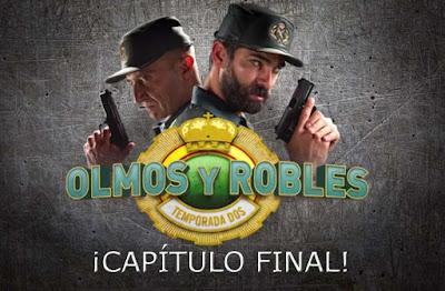capitulo final de la temporada 2 de Olmos y Robles lunes 21 noviembre