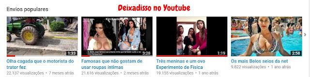 Deixadisso no Youtube