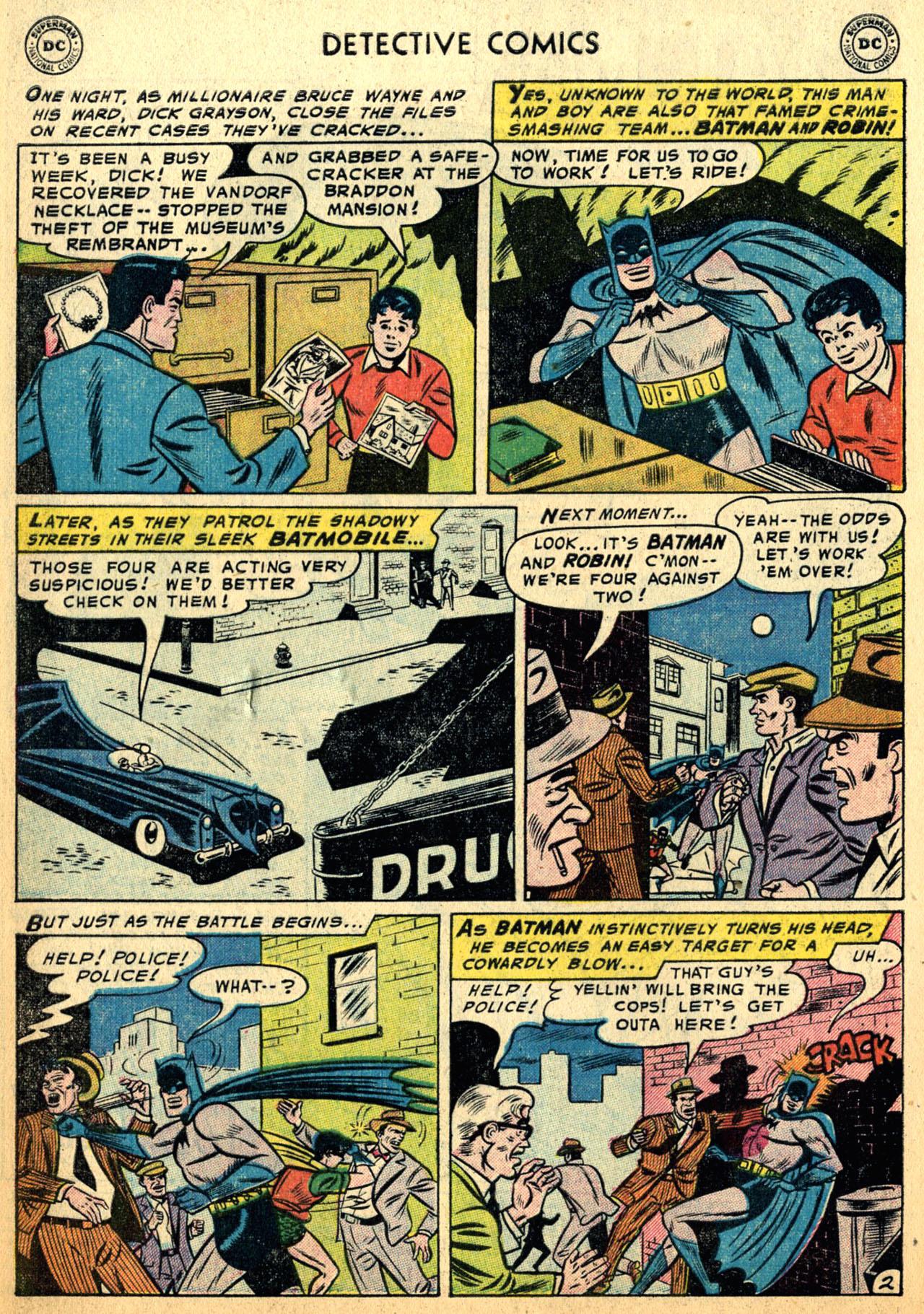 Detective Comics (1937) 228 Page 3