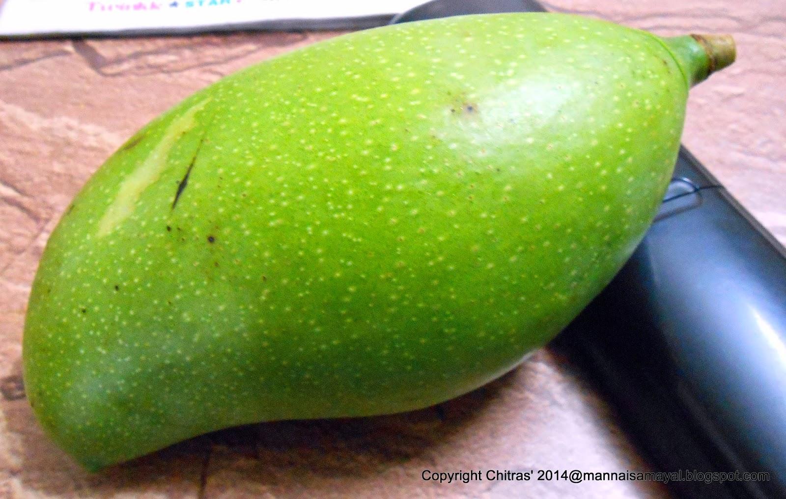 Maangai or Ottu Maangai [ Raw Mango ]
