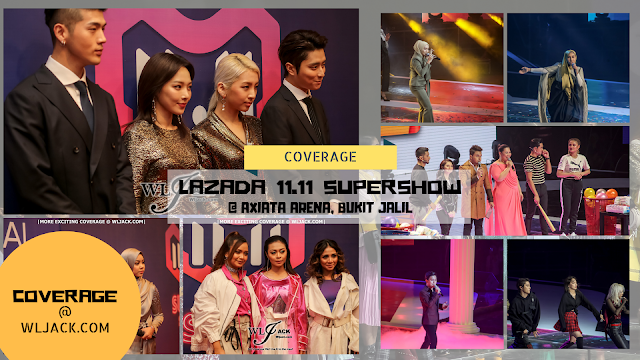 [Concert Coverage] Lazada 11.11 Super Show At Axiata Arena