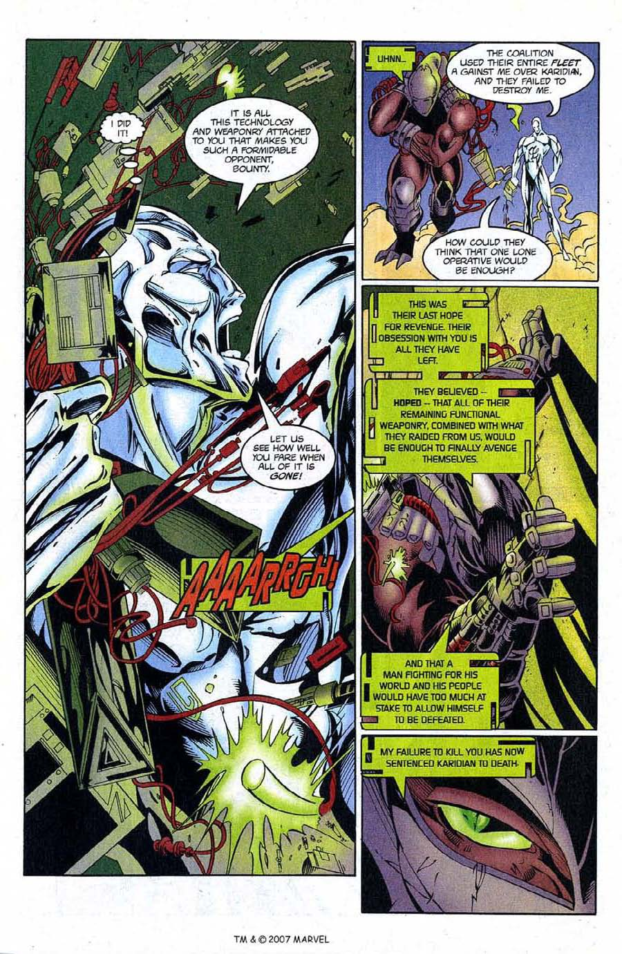 Read online Silver Surfer (1987) comic -  Issue #124 - 27