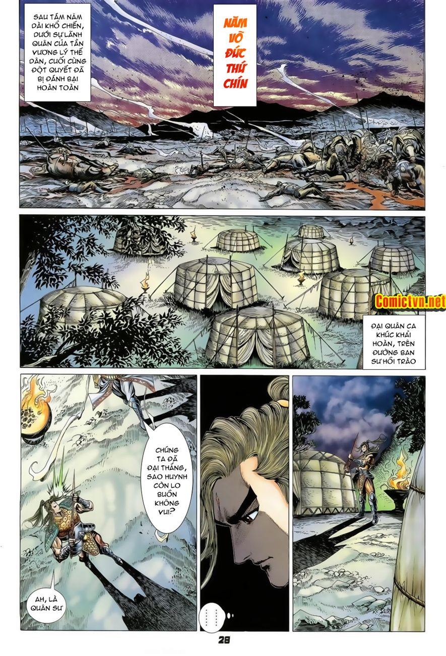 Đại Đường Uy Long chapter 73 trang 27