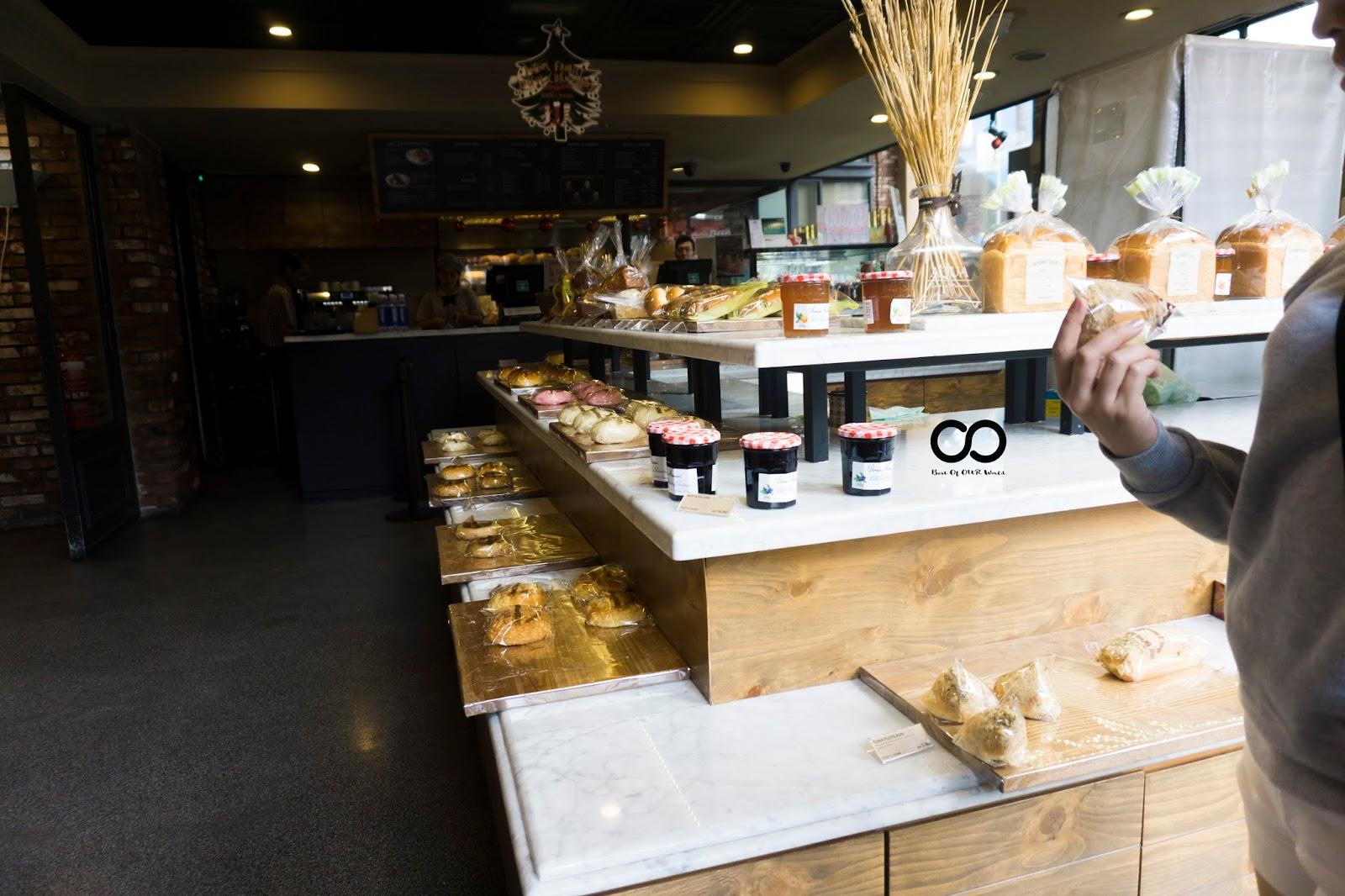 French-inspired Korean bakery