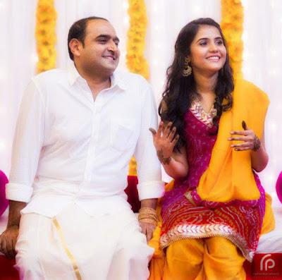 Sreenidhi-Marriage-With-Vikram-Kumar-mehendi