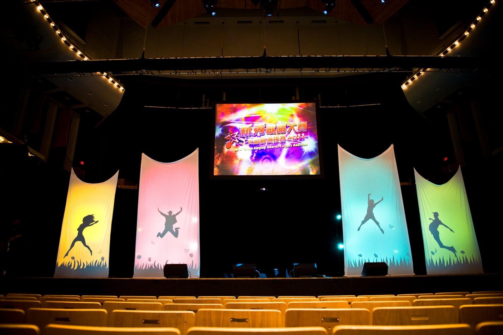 Wishahmon Blog: Stage Design at Jack Singer Concert Hall