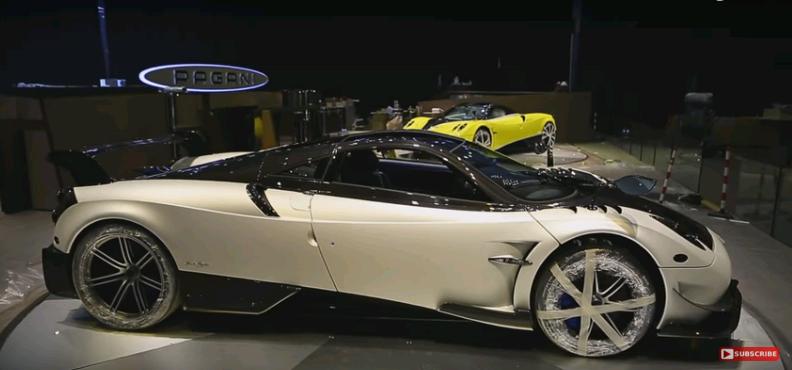 Pagani Huayra BC sẽ là siêu phẩm đáng mong chờ nhất tại Geneva Motor Show 2016 năm nay