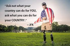 Happy Memorial Day 2016: ask not what your country can do for you, ask what you can do for your country,