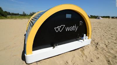 Computer che purifica acqua: Watly
