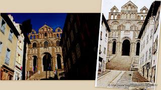 Le Puy, la cathédrale Notre Dame de l'Annonciation.