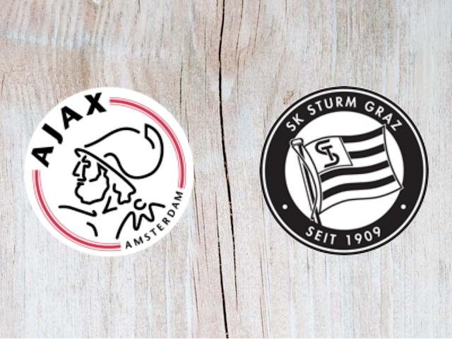 Watch Ajax vs Sturm Graz - Full Match replay