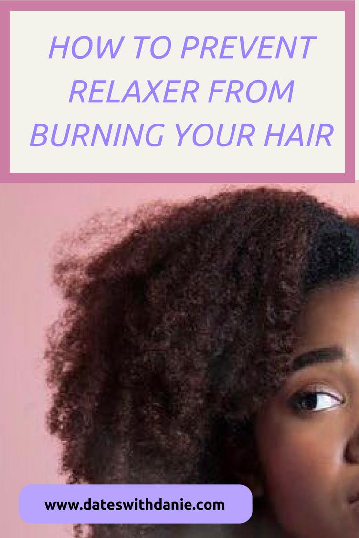 prevent relaxer burns