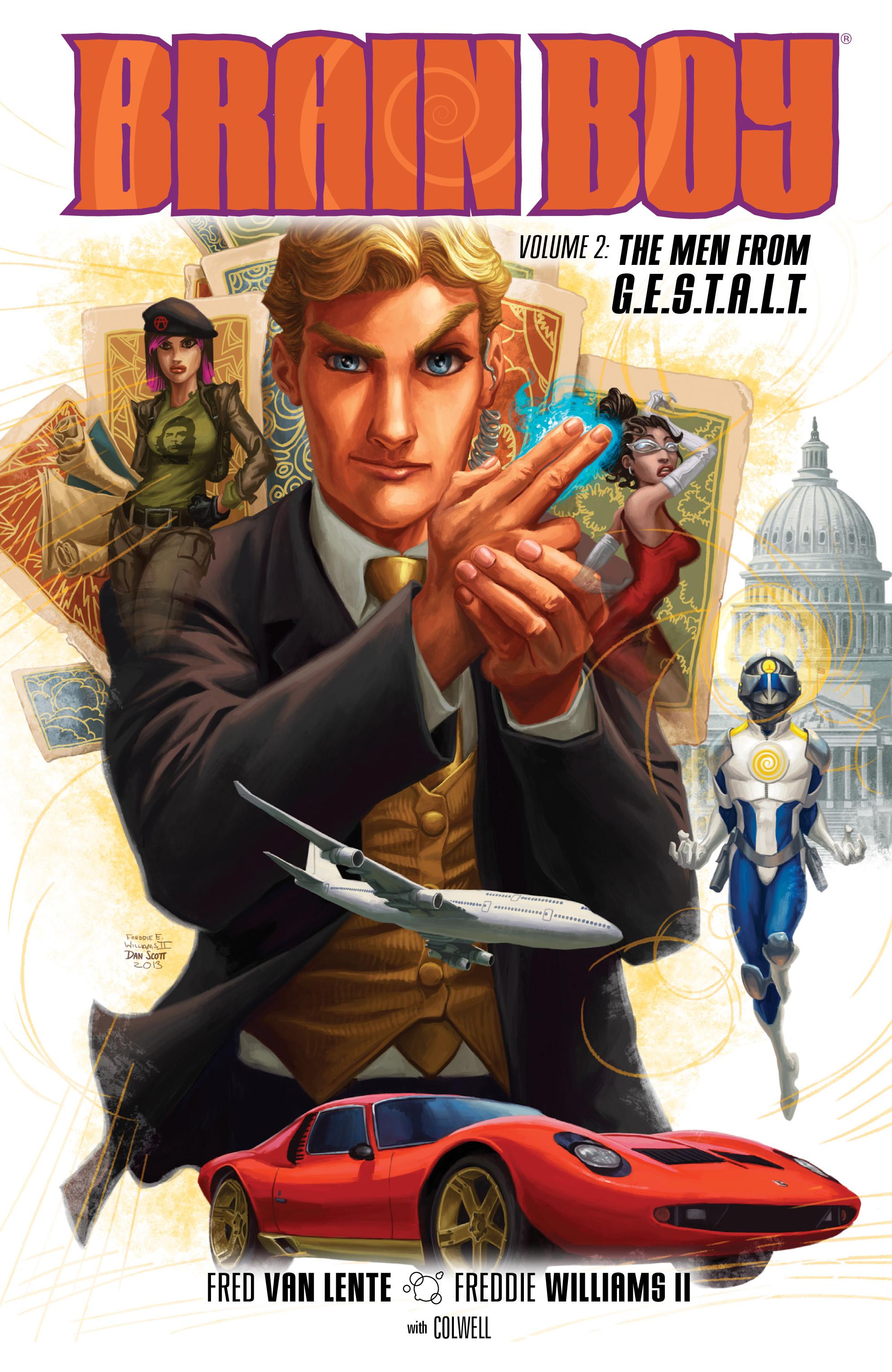 Read online Brain Boy:  The Men from G.E.S.T.A.L.T. comic -  Issue # TPB - 1