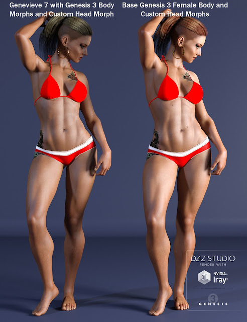 Mariposa for Genesis 3 Female and Genevieve 7