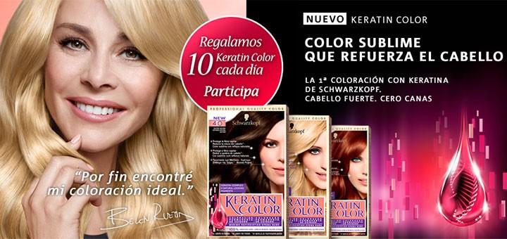 concurso tinte keratin color