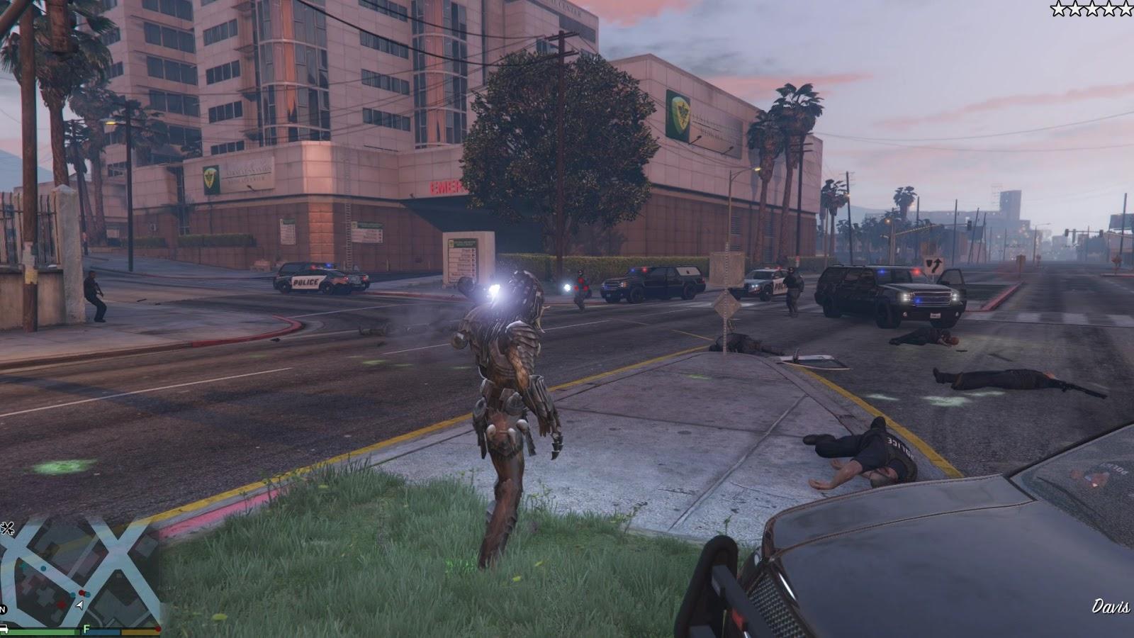GTA X Scripting: GTA V Predator script mod