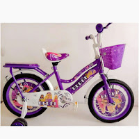 16 golden berbi ctb sepeda anak