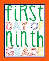 Ninth Grade Printable
