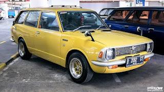 Yang Demen Mobil Retro Japan Dijual Corolla KE26 tahun 1971 Station Wagon - JAKARTA