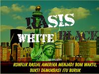 Konflik Rasial Amerika Menjadi Bom Waktu, Bukti Demokrasi Itu Buruk