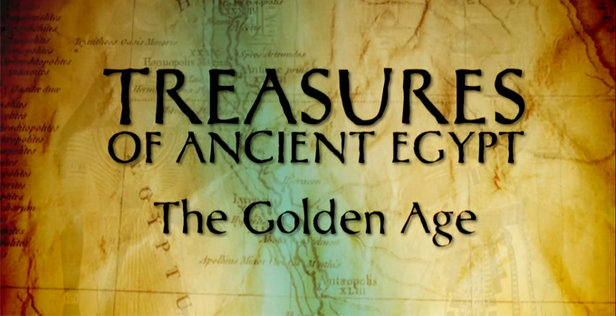 Treasures of Ancient Egypt-The Golden Age-cover