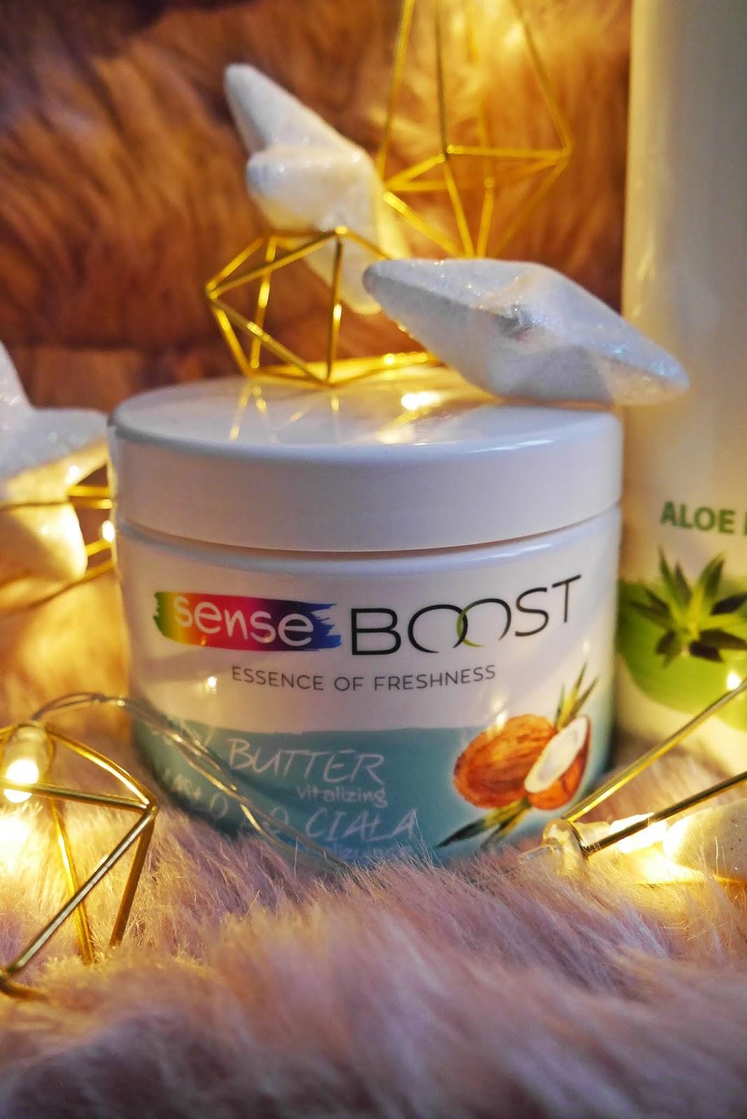 Senseboost płyn micelarny masło do ciała kokosowe karyn blog modowy blog urodowy