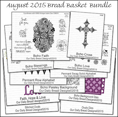 Our Daily Bread Designs August 2015 Bread Basket Bundle