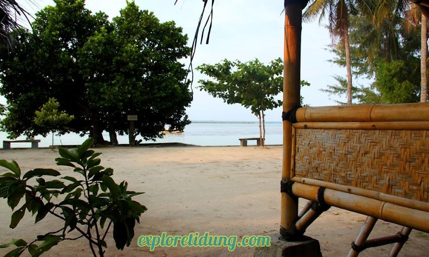 penginapan dipinggir pantai dan wisata pulau tidung