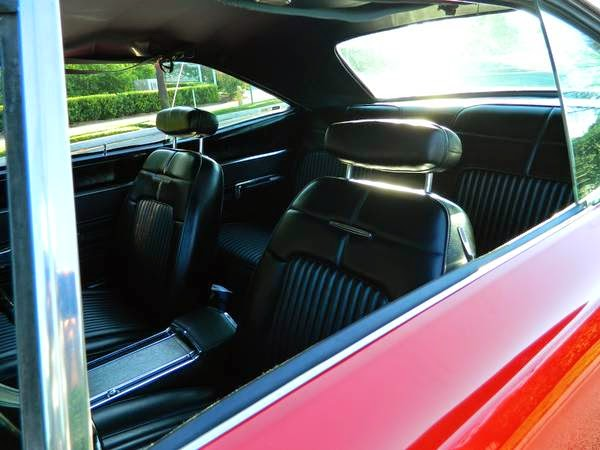 Dodge Coronet Rt Black Interior