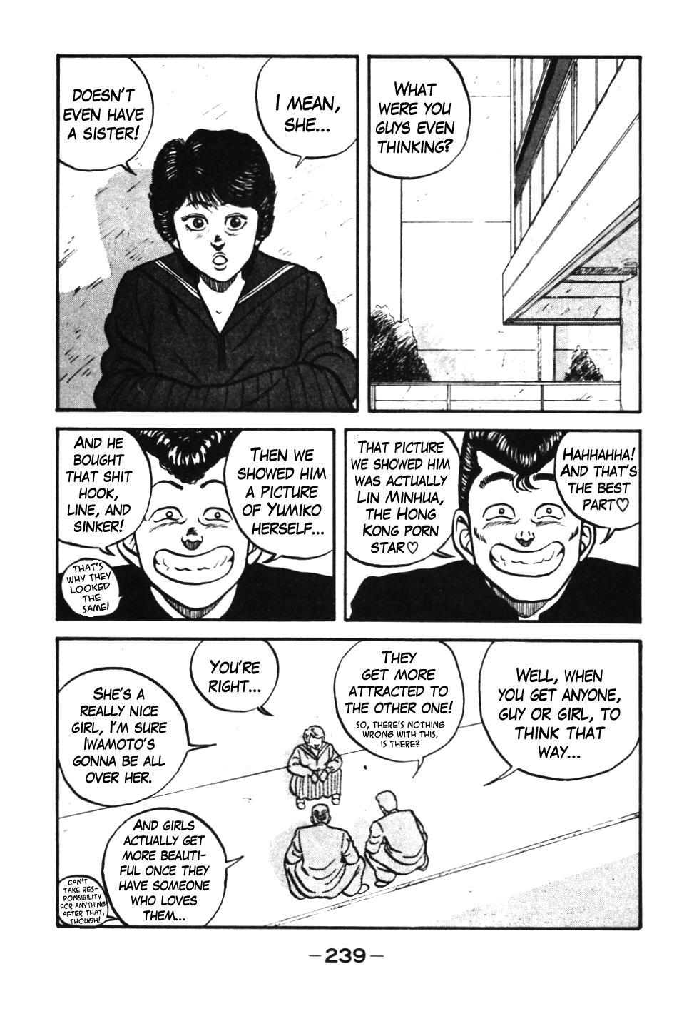 Be-Bop High School Vol 4 Ch 39: Iwamoto the Mans Heavenly First Love
