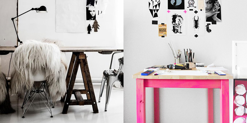 10 escritorios de diseño para cambiar el look a tu estudio