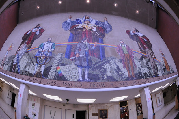 Man' Astro Bronx High School Of Science Mural