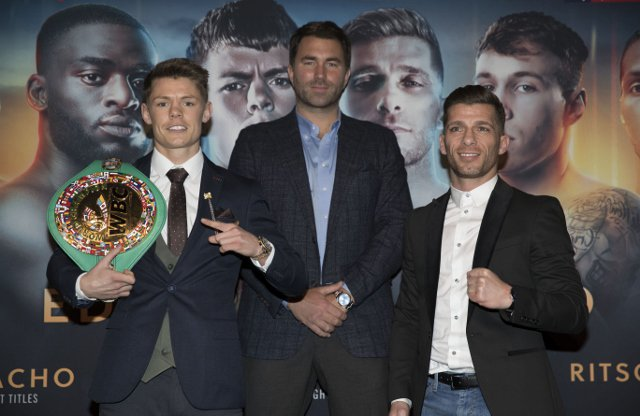Charlie Edwards vs Angel Moreno - Eddie Hearn