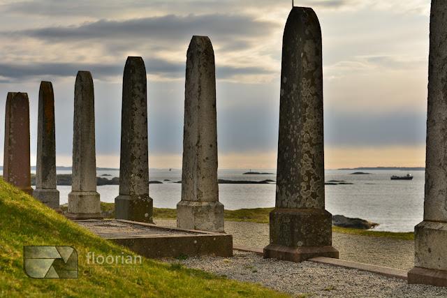 Obelisk Króla Haralda Pięknowłosego w Haugesund - najważniejsza atrakcja turystyczna regionu Haugesund