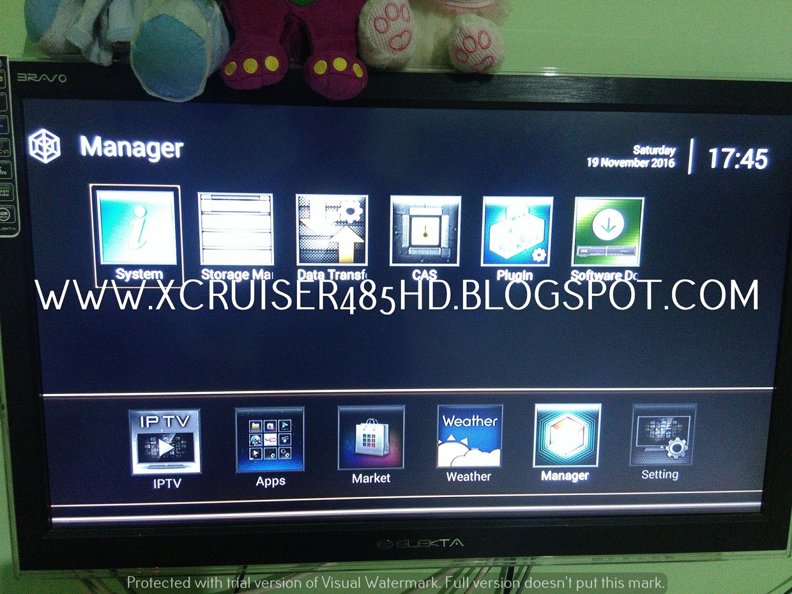 XCRUSIER XDSR485HD ANDROID: HOW TO CONFIGURE CCCAM SERVER IN