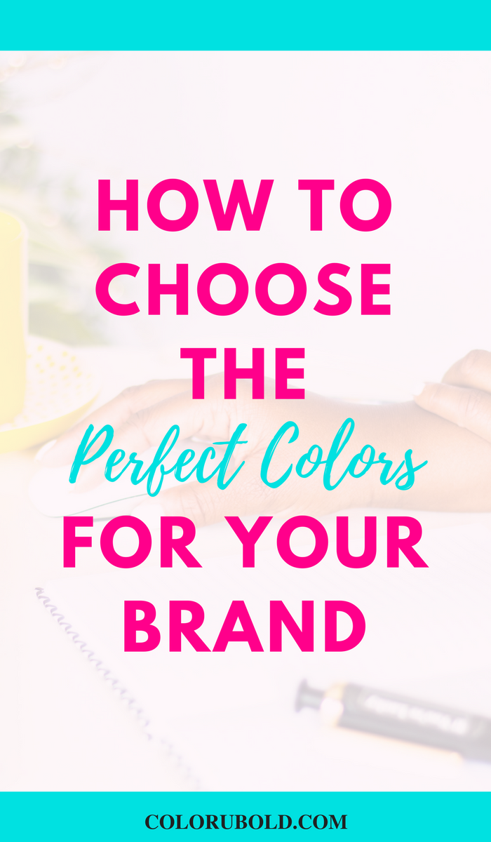 how to pick the right colors scheme for your brand