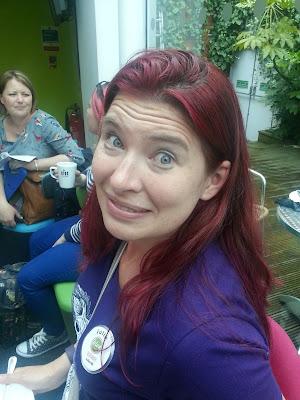 Blogger at Clog Camp, Birmingham