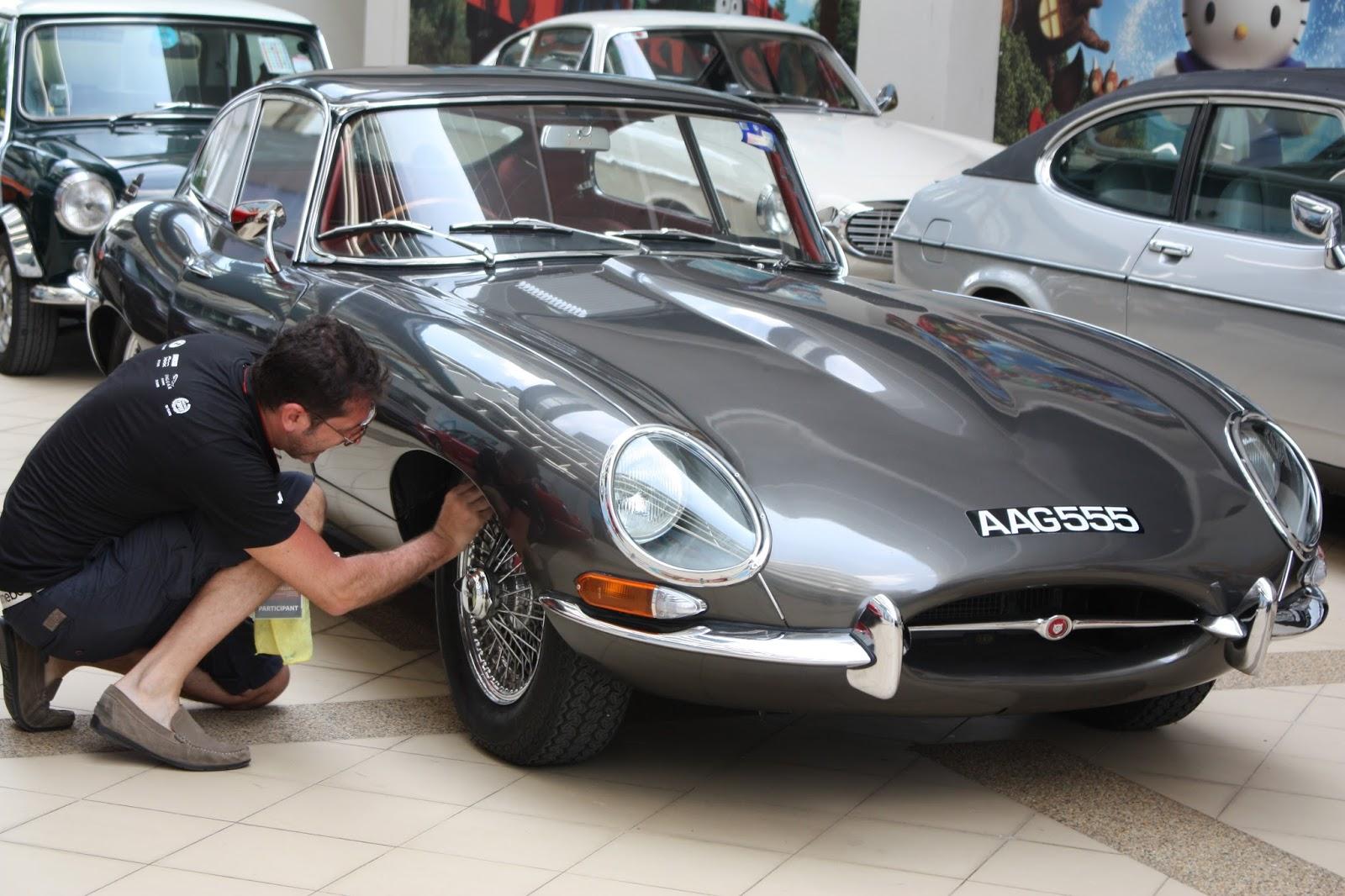 Image result for Jaguar E-Type sultan johor