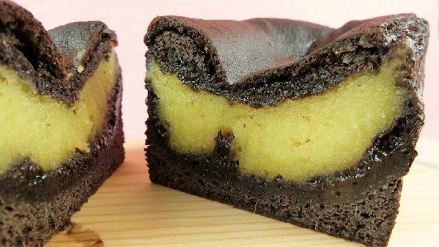 栗きんとんたっぷり!ブラックココアパウダーのパウンドケーキ