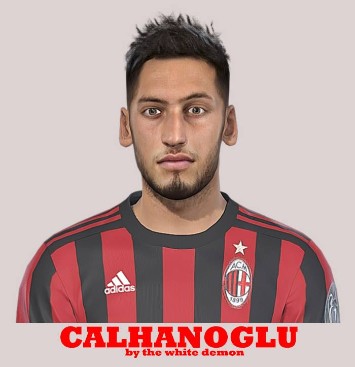 PES 2019 / PES 2018 Calhanoglu Face By The White Demon